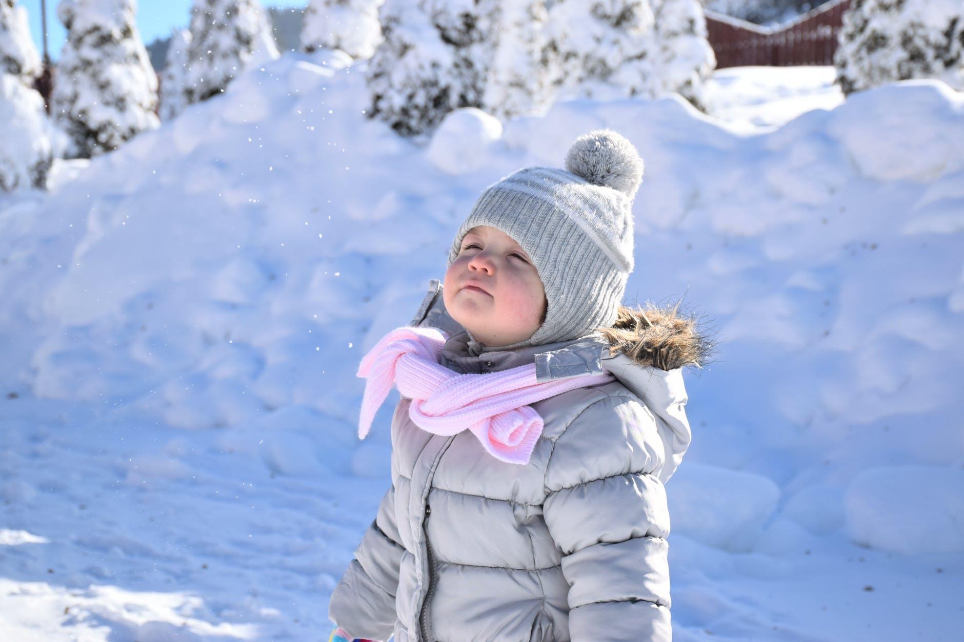 Hold varmen i kulden med fingervanter baby